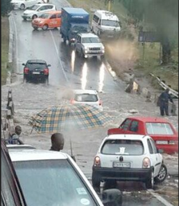 Some of the heaviest rain in months fell in a few hours in Johannesburg on the early morning of 3rd February.