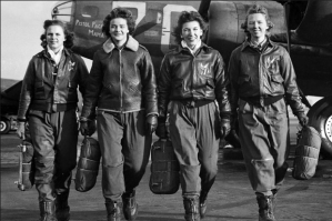 Too busy trying to survive to be Gung Ho. A lesson from history.  WWII female pilots.
