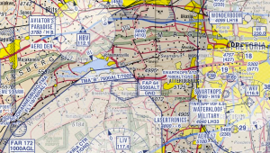 Aviation Map Showing Areas North of Lanseria and OR Tambo. HBV slap in the middle. Note Waterkloof Airfield top right.