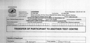 Form Number CA 61-01.10