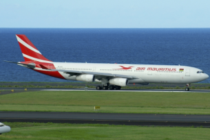 Airbus A340 courtesy of planespotter