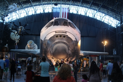 This is the last Space Shuttle to make the trip